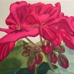 Lipstick Pink 18x24 Oil